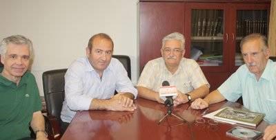 Ο Ανδρέας Χρόνης συναντά τους προέδρου των δύο ΚΤΕΛ