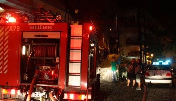 Περίεργη φωτιά σε δημοτικό όχημα