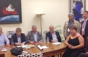 Σύσκεψη στη Βουλή υπό τον Γ. Καλαντζή  με παράγοντες του Νομού Καβάλας για τον αγωγό TAP