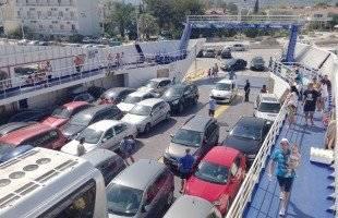 Ρεκόρ 8ετίας τον Ιούλιο στην κίνηση επιβατών- οχημάτων στη γραμμή της Κεραμωτής