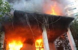 Κάηκε σπίτι στον Πρ.Ηλία