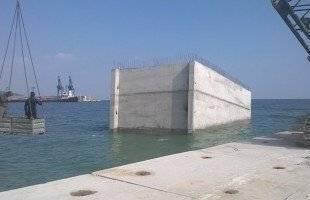 Διορθώθηκε η ζημιά στο νέο λιμάνι