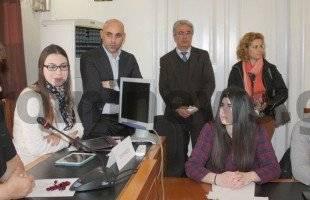 Μαθητές και φοιτητές συσκέφθηκαν χθες με τη δήμαρχο στα πλαίσια του νέου προγράμματος ERASMUS+