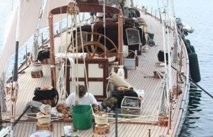 Το εντυπωσιακό SHAMROCK στο λιμάνι της Καβάλας