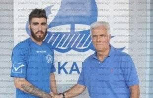 Παίκτης του ΑΟΚ και ο Νίκος Λιόλιος
