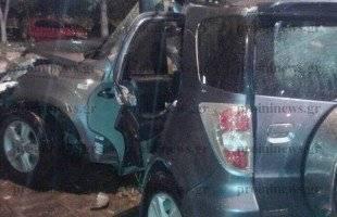 Σοβαρός τραυματισμός οδηγού τζιπ