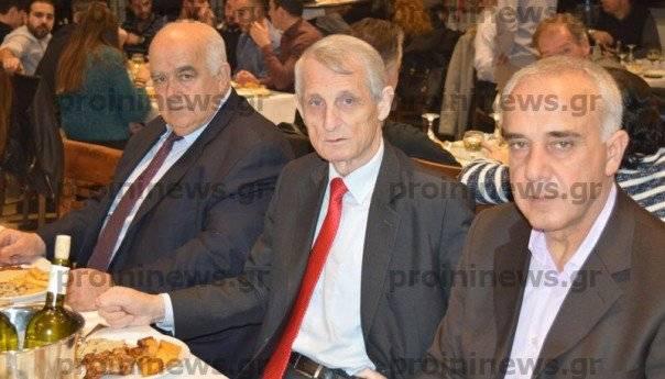 Ο πρόεδρος της ΕΠΟ, στην κοπή της πίτας των διαιτητών