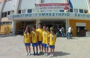 Χρυσό στο ομαδικό των κορασίδων στο Τραμπολίνο οι αθλήτριες του Παλμού στο Πανελλήνιο πρωτάθλημα, 2ος ο Νώλης στους παίδες.