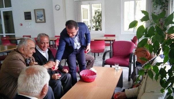 Στα ΚΑΠΗ του Δήμου Καβάλας ο Μάκης Παπαδόπουλος
