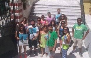 Οι εθελοντές του Φεστιβάλ Φιλίππων εν δράσει