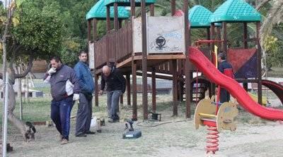 Συντήρηση στο πάρκο Φαλήρου