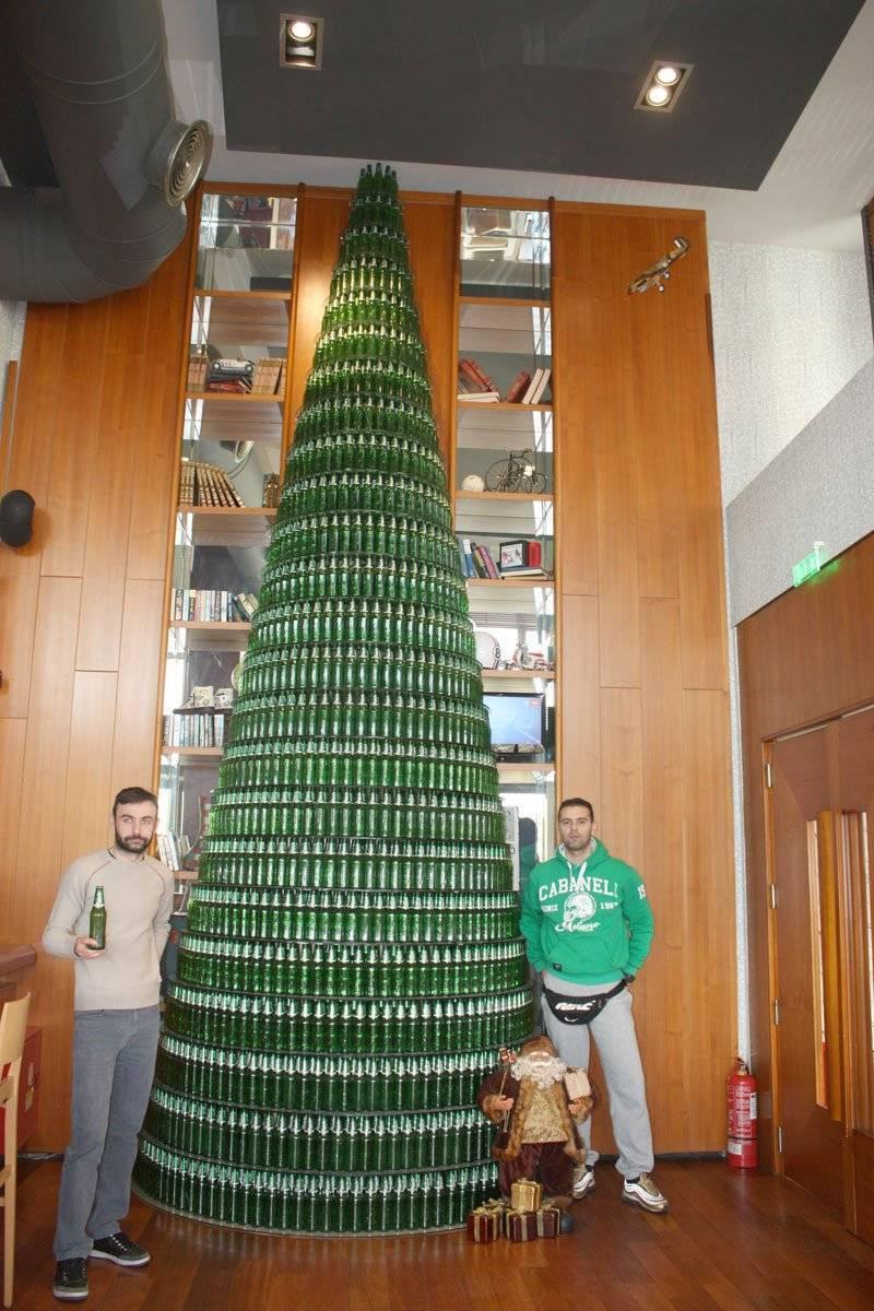 Ενα διαφορετικό χριστουγεννιάτικο δέντρο …