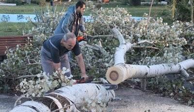 Ποδαρικό του Οκτώβρη με προβλήματα – Βιβλική καταστροφή κι ένα Πάρκο σαν «κρανίου τόπος»