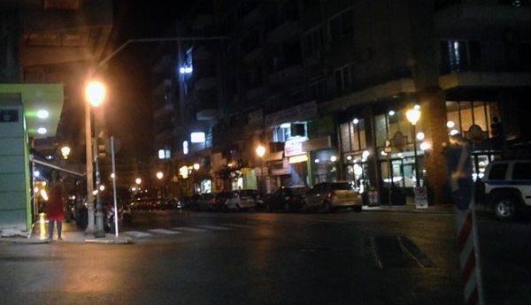 Αντιφασιστική δράση στον οδό Βενιζέλου