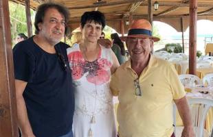 O Ηλίας Μαμαλάκης στην Καβάλα