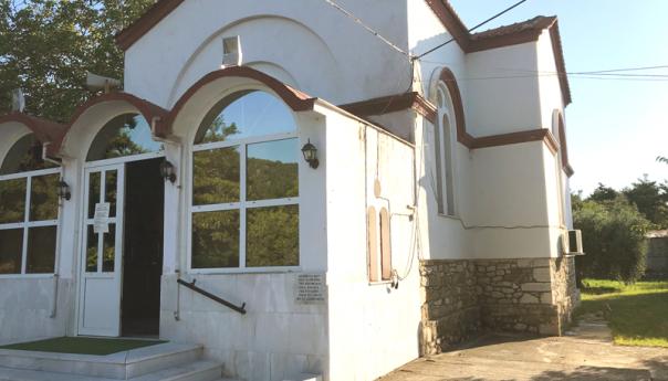 Διάρρηξη στην εκκλησία της Αγίας Τριάδας