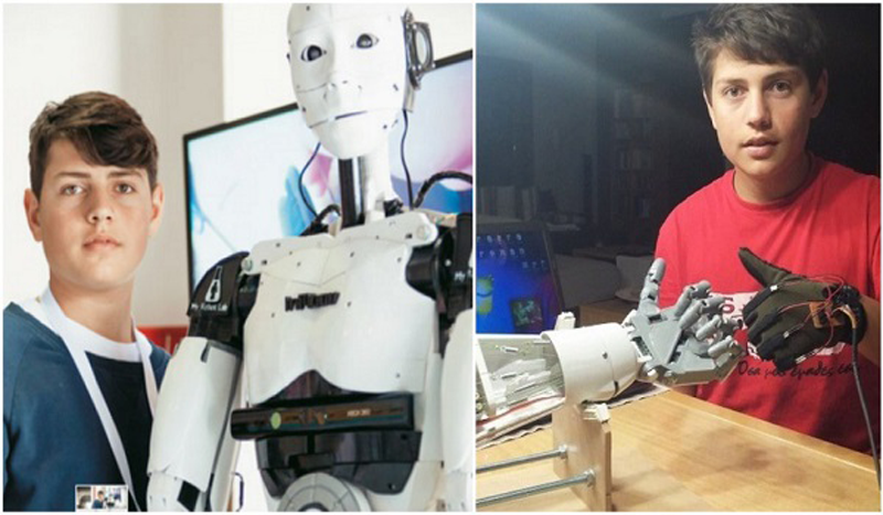 Καβάλα: 15χρονος έφτιαξε ρομπότ με τεχνητή νοημοσύνη και υποκλίνεται όλος ο πλανήτης