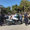 Διαμαρτυρία προσφύγων στην είσοδο του Ασημακοπούλου (φωτογραφίες)
