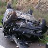 Μία τραυματίας σε τροχαίο στην Ε.Ο. Καβάλας - Σερρών