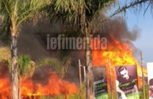 H φωτιά στους Αμμόλοφους έφτασε και στα site των Αθηνών (φώτο και βίντεο)