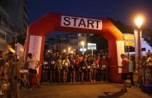 Τοπική γιορτή το 5ο Kavala Night City Run