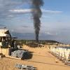 'Εκτακτο : Πυρκαγιά στους Αμμόλοφους (φωτογραφία)