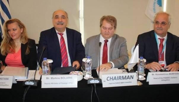 Με Μπόλαρη η συνεδρίαση των χωρών του Ευξείνου Πόντου