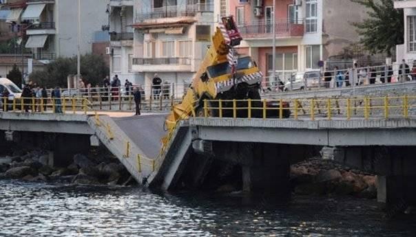 Ανακοίνωση του Δήμου Καβάλας για την οριστική αποκατάσταση και την προσωρινή λύση στη πεσμένη γέφυρα