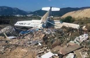 Πτώση αεροσκάφους στο αεροδρόμιο του Ζυγού Ξάνθης