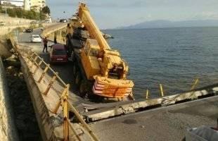 Εισαγγελική έρευνα για τη κατάρρευση της γέφυρας στην Καβάλα