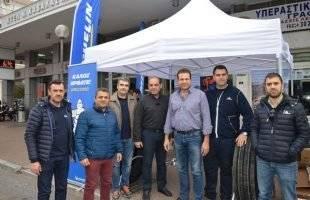 Παρουσίαση του νέου ελαστικού της Michelin στο ΚΤΕΛ Καβάλας