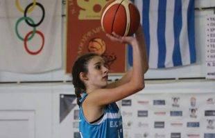 Η Σοφία Κελεμένη στο ΕΟΚ FIBA CAMP παγκορασίδων U14 που διοργανώνει η ΕΟΚ