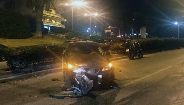 Τροχαίο ατύχημα στο Φάληρο (φωτογραφίες)