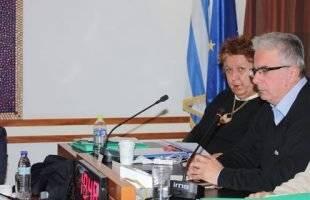 Ικανοποιημένη η Δήμαρχος από τη συνάντηση με τον Δ. Βίτσα