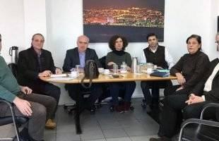 Τεχνική συνάντηση του Περιφερειάρχη ΑΜΘ με τον Γενικό Διευθυντή της «Εγνατία Οδός ΑΕ» για την Καβάλα