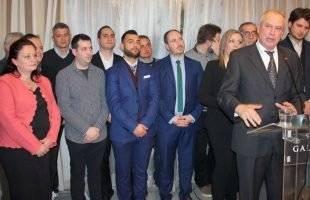 38 υποψήφιοι του Θόδωρου Μουριάδη- Πολύς κόσμος στην εκδήλωση του (φωτογραφίες)