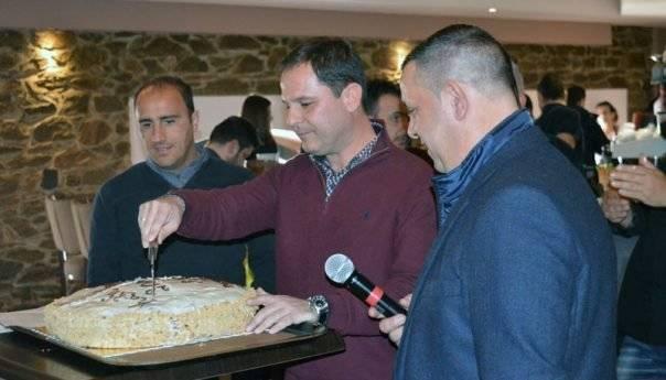 Έκοψαν την πίτα τους ΠΑΟΚ Mundialito και Μακεδονικός Αμισιανών (φωτογραφίες)