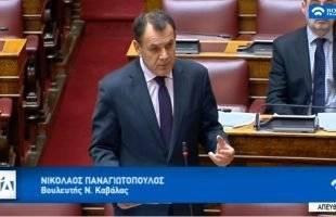 Νίκος Παναγιωτόπουλος στη Βουλή προς τον Υπουργό Ναυτιλίας:  «Επιμένω στο κατεπείγον της νομοθετικής ρύθμισης του ζητήματος για ΝΟΚ και ΟΘΑΚ που κινδυνεύουν με διάλυση»  Καμία διαβεβαίωση από τον Υπουργό, καμία ικανοποίηση για τα σωματεία. Η προσπάθεια συνεχίζεται.