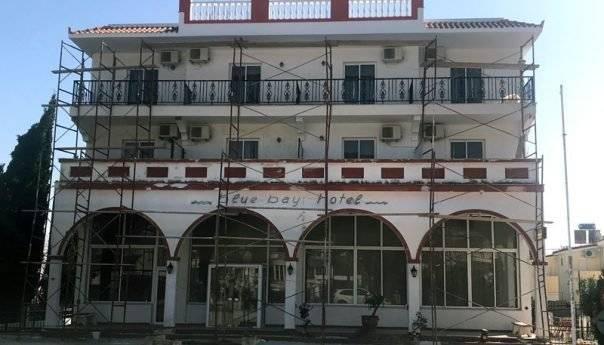 Την επαναλειτουργία του ετοιμάζει το ξενοδοχείο «Blue Bay» στη Νέα Ηρακλείτσα (φωτογραφίες)
