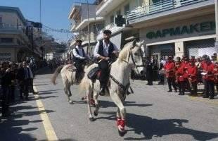 Παρέλαση με Γάλλους στην Ελευθερούπολη (φωτογραφίες)