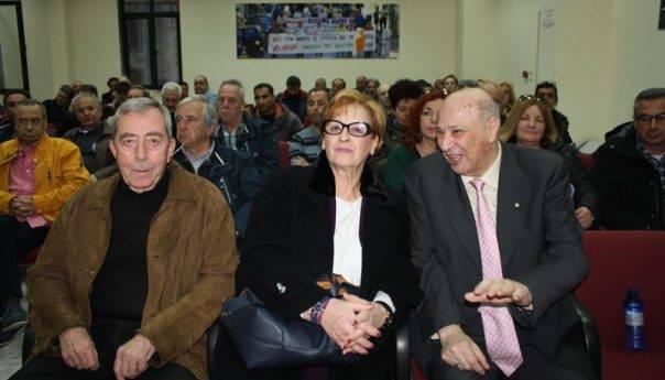Δάκρυα χαράς και συγκίνησης στην εκδήλωση του σωματείου εργαζομένων της ΔΕΥΑΚ- Βραβεύτηκαν Αθανασιάδης, Εριφυλλίδης, Πεταλωτής