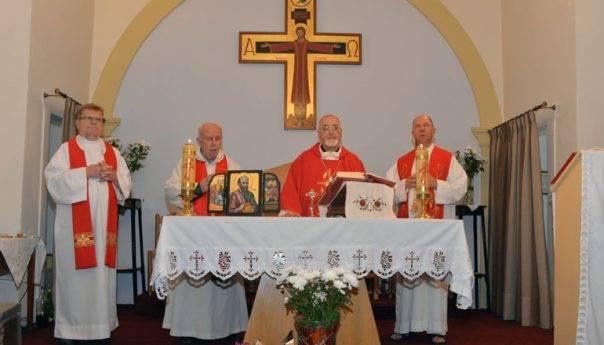 Επίσκεψη του Καθολικού Αρχιεπισκόπου στην Καβάλα - Αρχιερατική Θεία Λειτουργία για την Σύναξη της Τεσσαρακοστής