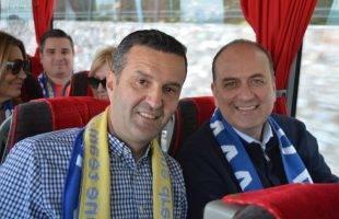 Ο Μακάριος Λαζαρίδης συγχαίρει τον ΑΟΚ