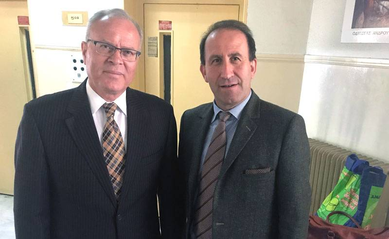 Υποψήφιος δημοτικός σύμβουλος Νέστου με τον Βαγγέλη Τσομπανόπουλο ο Γιώργος Γκράνας