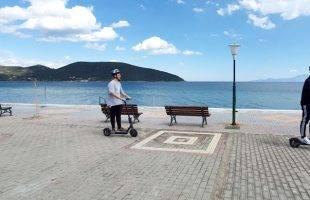 Βόλτα στην Νέα Πέραμο με ένα ηλεκτρικό πατίνι ! - Star Scooter και φύγαμε !!! (φωτογραφίες)
