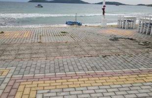 Δημήτρης Μπαταλογιάννης: Επικίνδυνο τμήμα του παραλιακού πεζόδρομου της Νέας Περάμου