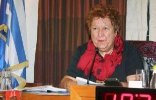 Αποχωρεί το 2023 από την τοπική αυτοδιοίκηση η Δήμητρα Τσανάκα