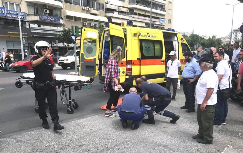 Τραυματίστηκε οδηγός δικύκλου(φωτογραφία)
