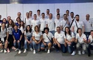 Ο Δαμιανός Κωνσταντάρας με την Εθνική Ομάδα Κωφών στο Παγκόσμιο Πρωτάθλημα