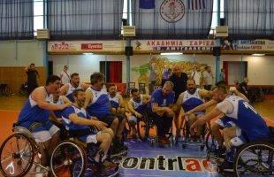 Μπάσκετ με Αμαξίδιο: Κέρδισε αλλά αποκλείστηκε ο ΑΟΚ (φωτογραφίες)